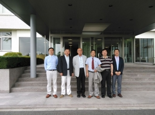 同済大学の訪問団が来学しました! 中国連携推進プロジェクト 中部大学