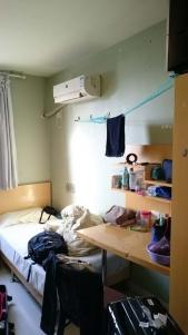 華東師範大学留学期間中の部屋