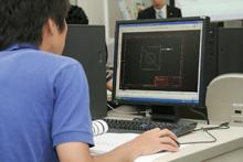 CAD授業風景2